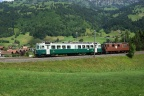 "BLS Be 4/4 761 ""Wellensittich"", Re 4/4 172 ""Eggerberg"""