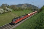 "SBB Re 4/4 III 11354, Re 6/6 11602 ""Morges"""
