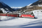 "RhB Ge 4/4 III 651 ""Glacier on Tour"""